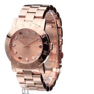 Marc by Marc Jacob's Rose Gold Crystal  Watch